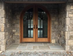 Anderson Arch Cherry Wood Entrance Door